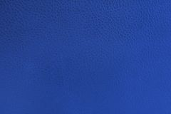 Blue leather Royalty Free Stock Images