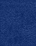 Blue leather. A background of textured blue leather Stock Images
