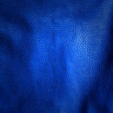 Blue leather background Royalty Free Stock Images