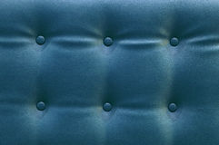 Blue leather background Royalty Free Stock Image