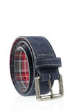 Blue Leather Belt Stock Images