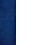 Blue leather cover book Royalty Free Stock Photo