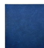 Blue leather cover of the book Stock Image