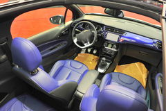 Convertible car interior Royalty Free Stock Photos