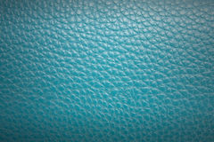 Blue leather texture and background Royalty Free Stock Image