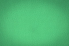 Blue leather texture background Stock Image