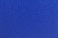 Blue leather texture background Royalty Free Stock Photos