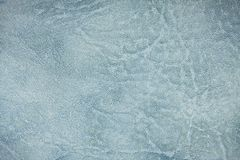 The blue leather texture. Background. Royalty Free Stock Images