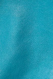 Blue leather texture for background Stock Image