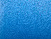 Blue leather texture Stock Image