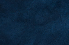 Blue leather texture Stock Images