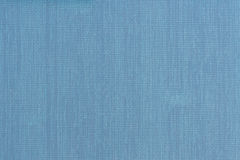 Blue leather texture closeup. Useful as background for design. Stock Images