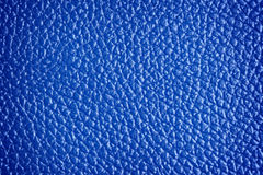 Blue leather with texture/structure Royalty Free Stock Photos