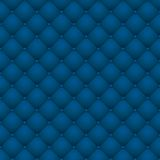 Blue leather upholstery Stock Photos