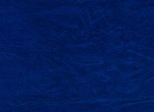 Blue leatherette background Royalty Free Stock Photos