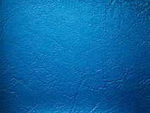 Blue Leatherette sample. Blue leatherette textuer sample color for design Royalty Free Stock Image
