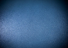 Blue leatherette Surface texture as background grung texture Royalty Free Stock Photography