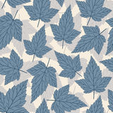 Blue leaves Royalty Free Stock Image
