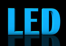 Blue LED Royalty Free Stock Image