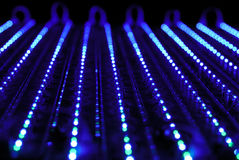 Blue led Stock Image