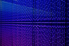 Blue LED abstract background Stock Photo