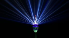 Blue Led Light Royalty Free Stock Image