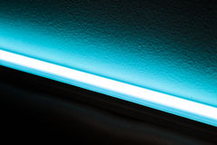 Blue LED Light Source Stock Photography