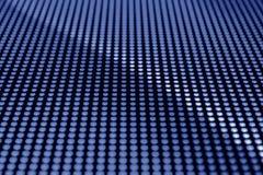 Blue LED screen. Background macro royalty free stock photography
