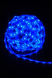 Blue led strip Royalty Free Stock Images