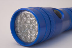 Blue LED Torch Royalty Free Stock Image