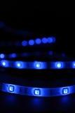 Blue leds Royalty Free Stock Photo