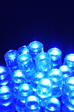 Blue LEDs Stock Photo
