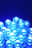 Blue LEDs Stock Photos