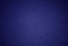 Blue lether surface Stock Images