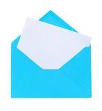 Blue letter Stock Photo