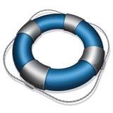 Blue lifebuoy Royalty Free Stock Image