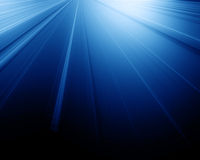 Blue light from above Royalty Free Stock Photo