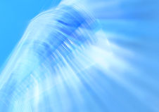 Blue light abstract color background Stock Photography