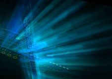 Blue light abstract color background Stock Images