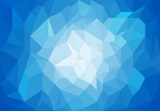 Blue light abstract geometric background texture. Royalty Free Stock Photo