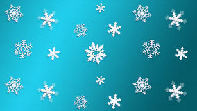 BLUE light background texture snowflake Royalty Free Stock Photo