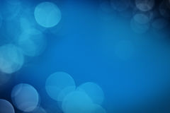 Blue light with Black background Royalty Free Stock Photos