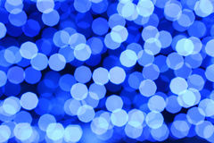 Blue light blur Stock Photos