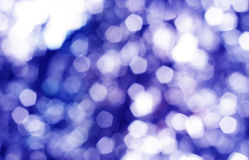 Blue light bokeh background Royalty Free Stock Image