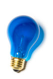 Blue Light Bulb Royalty Free Stock Image