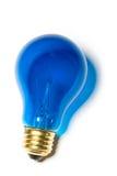 Blue Light Bulb Royalty Free Stock Image