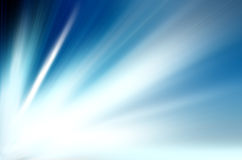 Blue light burst Royalty Free Stock Photos