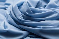 Blue light cloth, fabric, textile Stock Image