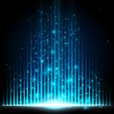 Blue-Light equalizer Stock Images