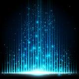 Blue-Light equalizer Stock Images